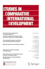 Kyle A. Jaros has published an article with Studies in Comparative International Development