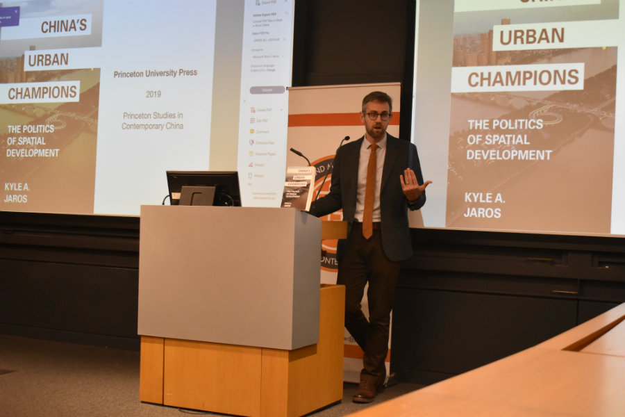 Kyle Jaros speaks at Princeton University and the University of Pennsylvania