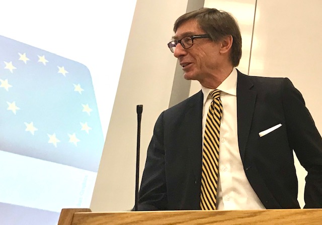 Peter Wittig, German Ambassador to the UK, at the China Centre